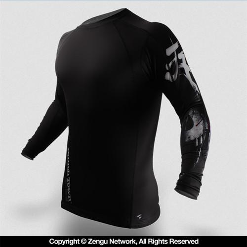 PunchTown PunchTown Deranged Long Sleeve Rashguard